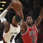 Jimmy Butler, Bulls kick off circus trip with dominating win in Portland