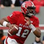 Patriots select QB Jacoby Brissett with No. 91 pick in 2016 NFL draft