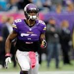 Adrian Peterson active for Vikings