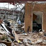 Students of tornado-ravaged city return to school