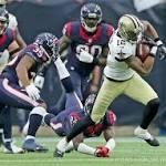 Tidbits from New Orleans Saints' 24-6 loss at Texans