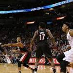 Bosh, Whiteside lead Heat to emotional 116-109 win over Blazers