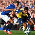 2 late goals secure Arsenal 2-2 draw at Everton