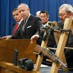Brown vetoes bill banning semi-automatic rifles