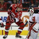 Martin Brodeur scores game's first goal in return to action for Devils (VIDEO)