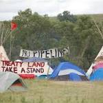 North Dakota Protesters Vow to Stop Oil Pipeline From Traversing Sioux Land