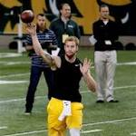 Browns prospect Wentz impressed at pro day