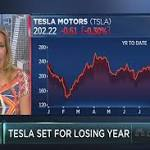 Tesla shares are primed to mark a grim milestone