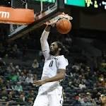 Benjamin scores 25 as No. 21 Oregon beats Arkansas State