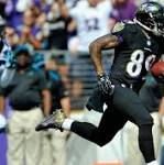 Steve Smith's big day leads Ravens to 38-10 victory over the Carolina Panthers