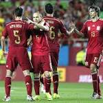 Torres, Iniesta score in Spain's win against Bolivia
