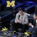 Brady, Jeter Celebrate Michigan's Signing Day