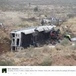 At least 10 killed in Texas when prison bus strikes train
