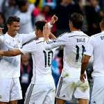 Rodriguez's debut, Bale's house - but the Super Cup was Ronaldo's party