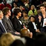 MSNBC's Rachel Maddow tells Flint 'America is with you now' in water crisis