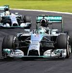 Brazil Grand Prix 2014: Nico Rosberg holds off team-mate Lewis Hamilton to set ...