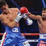 Manny Pacquiao vs Chris Algieri: as it happened