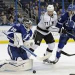 St. Louis Has 2 Goals, Lightning Beat Kings