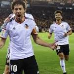Valencia beats Sevilla 3-1 to take over 4th place in Spain