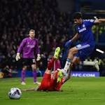 Chelsea striker Diego Costa could be suspended for Manchester City clash after ...