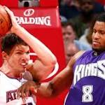 Atlanta Hawks defeat Sacramento Kings in record fashion