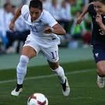 US Women's National Team 2, France 0 - Algarve Cup - Championship (Faro ...