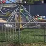 Children electrocuted on amusement park ride