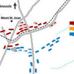The Battle of Waterloo, as it happened on June 18, 1815