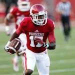 Indiana receiver in critical condition after swimming accident