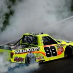 Matt Crafton Wins Kansas Truck Race; Results - HardcoreRaceFans.com