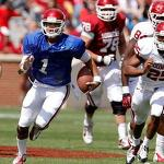 College Capsules: Oklahoma quarterback Thompson arrested