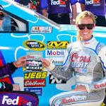 Denny Hamlin Wins Second Straight Pole At The Monster Mile