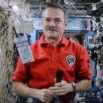 Chris Hadfield first in-space viral music video star with 'Space Oddity'