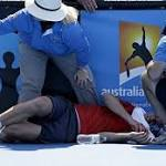 Tennis in a sauna? Heat wave hits Australian Open