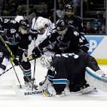 Kings beat Sharks in overtime without Lucic