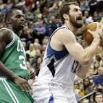 Report: Celtics in Kevin Love mix