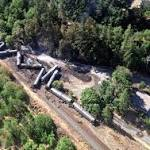 Oil-train derailment, fire damaged Oregon city water system
