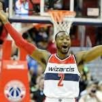 With career coming into focus, Wall leading Wizards through playoffs