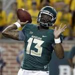 No. 7 Baylor down to 3rd QB in Big 12 title, playoff pursuit