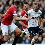 Possession 50% 50% 0 mins Manchester United Tottenham Hotspur