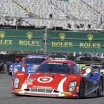 Scott Dixon leads Ganassi aposstar vehicleapos to Rolex 24 victory