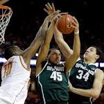 College Basketball Capsules: No. 5 Michigan State beats Texas