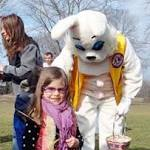 Church's Easter egg hunt starts in midair