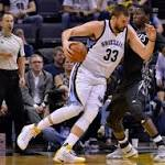 Conley, Gasol lead Grizzlies over Timberwolves 102-98