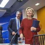Clinton: Income imbalance must be addressed