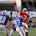 Bills' EJ Manuel flashes good and bad in team scrimmage