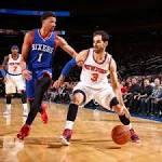 """Knicks 91, 76ers 83: """"TBD"""""""