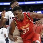 Melo Trimble propels No. 6 Maryland past Connecticut