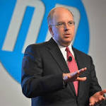 HP replaces enterprise chief, posts Q3 sales drop