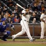 Giants' Sanchez stays calm, focused during clutch at-bats